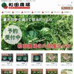 和田農場 オンラインショップ 八色産スイカ・魚沼産コシヒカリ生産直売